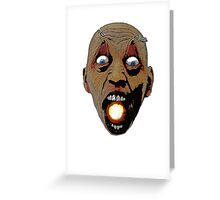 I have a universe in my mouth.. Greeting Card