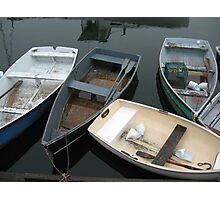 Rockport Rowboats 1 Photographic Print