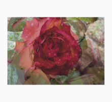 Multiexposure Red rose Kids Clothes