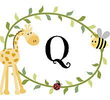Nursery Letters Q by mezzilicious