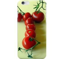 T is for TOMATOES! iPhone Case/Skin