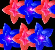 Wraparound In Red And Blue by digitalmidge