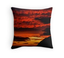 Good Morning Cromarty Throw Pillow
