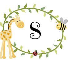 Nursery Letters S by mezzilicious