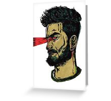 Laser Guy - I think I have Super Powers Greeting Card