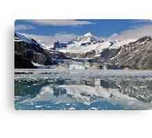 Johns Hopkins Glacier Canvas Print