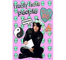 Gerard Way Tumblr Edit Photographic Print