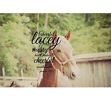 Lacey Photographic Print