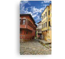 an old city Canvas Print