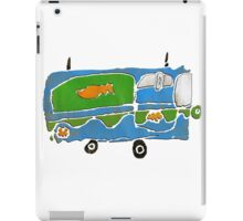mystery machine iPad Case/Skin