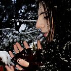 Catching Snow by Lividly Vivid