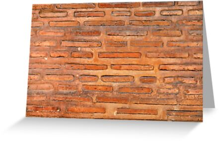 ansient bricking wall  by Sergieiev