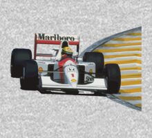 The legend ayrton senna by upick