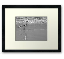One Day My Love Will Come Framed Print