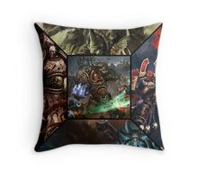 Warhammer - Chaos Throw Pillow