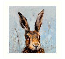 Holly Hare Art Print
