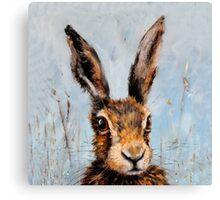 Holly Hare Canvas Print