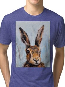 Holly Hare Tri-blend T-Shirt
