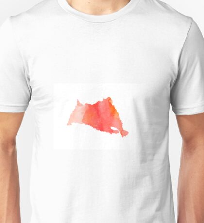 Abstract hamster silhouette large poster Unisex T-Shirt