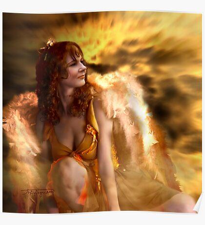 The Golden Angel    by wonderful navybrat Poster