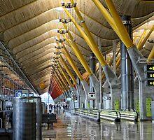 Madrid Airport by R Hawkins
