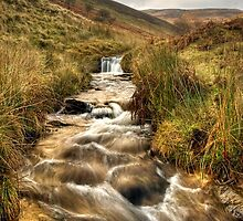 Jagger's Clough, Edale Valley by Steve  Liptrot