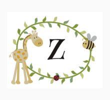 Nursery Letters Z Kids Clothes