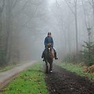Riding out on a grey day by jchanders
