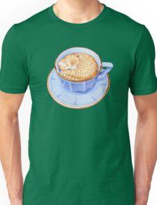 Cat in Coffee T-shirt Unisex T-Shirt