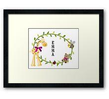 Emma - Nursery Names Framed Print