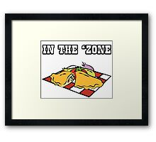 Parks and Recreation - In the 'Zone Framed Print