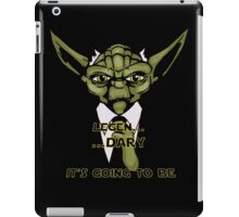 Legen... Dary Jedi iPad Case/Skin