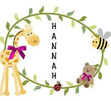 Hannah - Nursery Names by mezzilicious