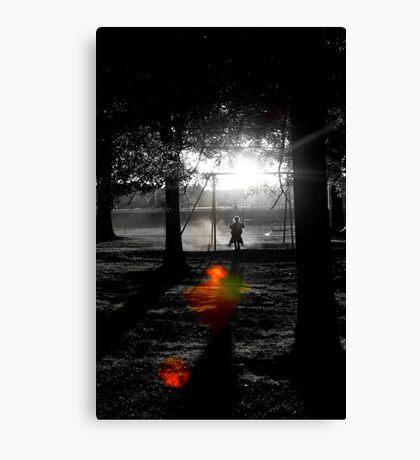 Shadow Swinging II Canvas Print