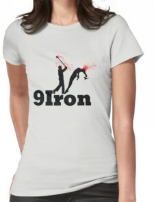 9 IRON Womens Fitted T-Shirt