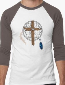 Dreamcatcher Cross Men's Baseball ¾ T-Shirt