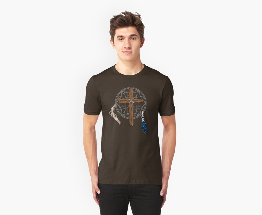 Dreamcatcher Cross by CSDesigns