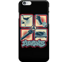 4 Elements of Hip Hop iPhone Case/Skin