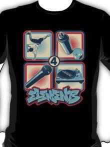 4 Elements of Hip Hop T-Shirt