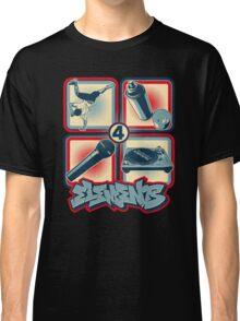 4 Elements of Hip Hop Classic T-Shirt
