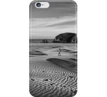 Footsteps in the Sand iPhone Case/Skin