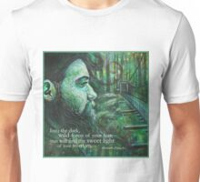 Into the dark, wild forest of your fear. Unisex T-Shirt