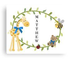 Matthew - Nursery Names Canvas Print