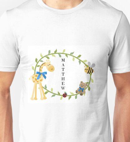 Matthew - Nursery Names Unisex T-Shirt