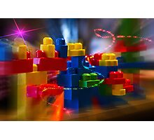 Children's Play Photographic Print