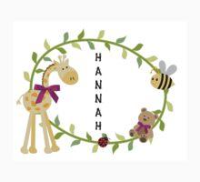 Hannah - Nursery Names Kids Tee