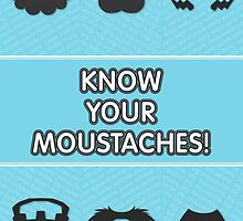 Know Your Moustaches! by Nemesis96