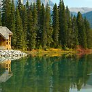 Emerald Lake Lodge by Amanda White