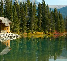 Emerald Lake Lodge by Amanda White