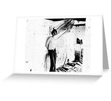Unclear Memories on Route 66 Greeting Card